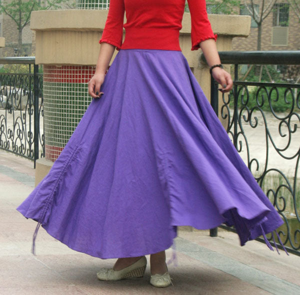 Free Skirt Sewing Pattern From xiaolizi Enjoy it