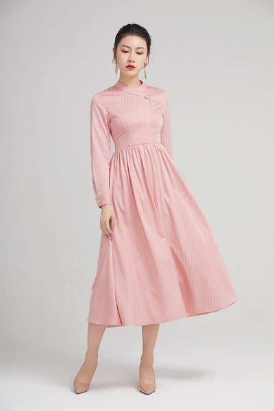 elegant summer dress  for women with long sleeves  2230