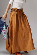 Load image into Gallery viewer, women's hippie maxi skirt 1042#