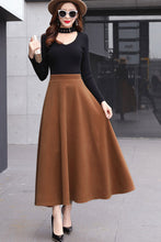 Load image into Gallery viewer, Classical flared skirt for women j001#