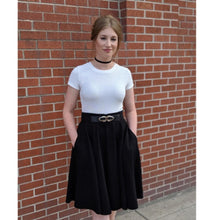 Load image into Gallery viewer, 50s skirt fit and flare skater skirt  1689#