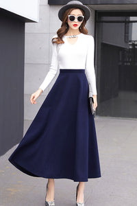 Classical flared skirt for women j001#