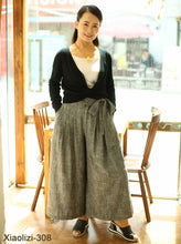 Load image into Gallery viewer, gray palazzo pants