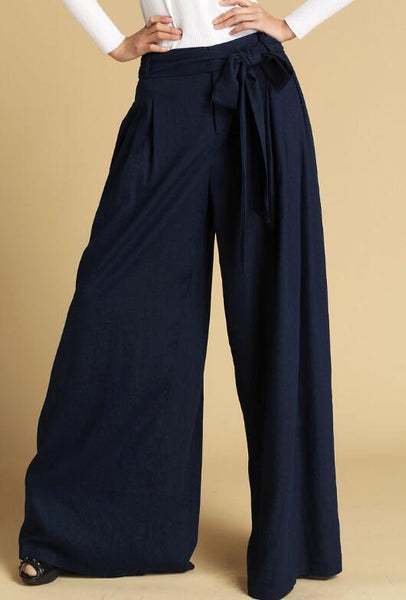 dark blue pants