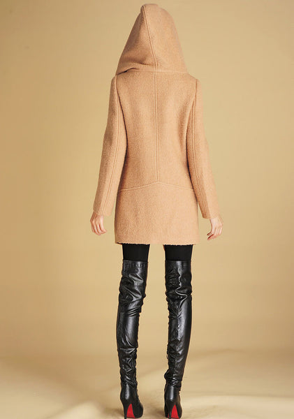 Winter wool coat warm jacket (436)
