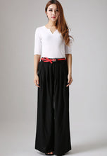 Load image into Gallery viewer, wide leg palazzo pants