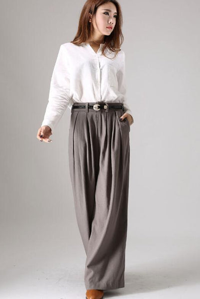 drak gray pants
