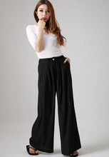 Load image into Gallery viewer, wide leg pants plus size