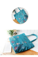 Load image into Gallery viewer, Single shoulder bag,artistic animal embroidery  001-144