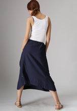 Load image into Gallery viewer, Xiaolizi Handmade casual Linen skirt 0983#