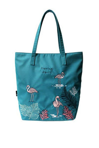 Single shoulder bag,artistic animal embroidery  001-144