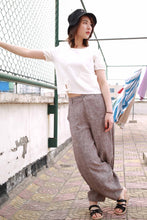 Load image into Gallery viewer, Womens Casual linen pants 2169#