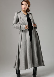 long dress coat