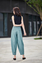 Load image into Gallery viewer, Casual linen pants for women 2191#