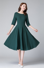 Load image into Gallery viewer, green dress