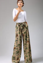Load image into Gallery viewer, floral printed pants