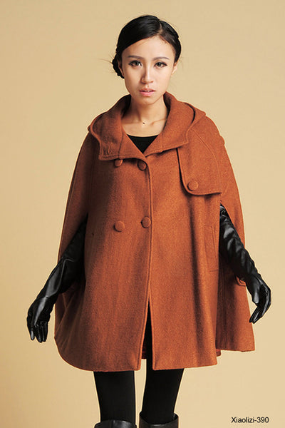Womens cape coats