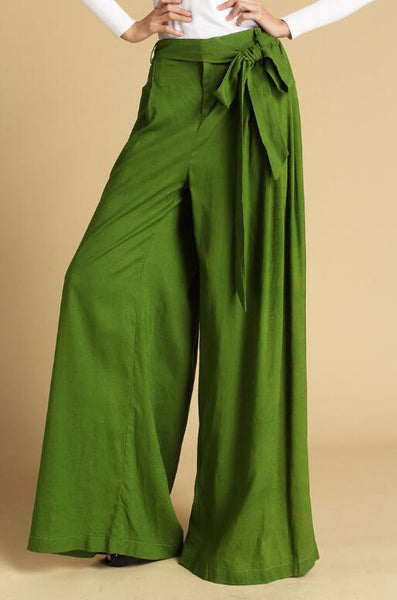 grass green pants