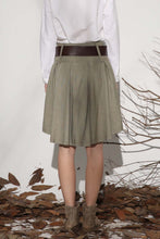 Load image into Gallery viewer, linen mini skirt