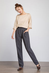 Loose fitting pants