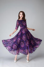 Load image into Gallery viewer, purple dress