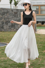 Load image into Gallery viewer, Boho Elastic Waist Pleated Maxi Skirts 271801