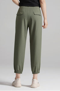 little above ankle length pants