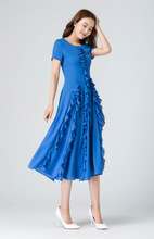 Load image into Gallery viewer, ruffle dress