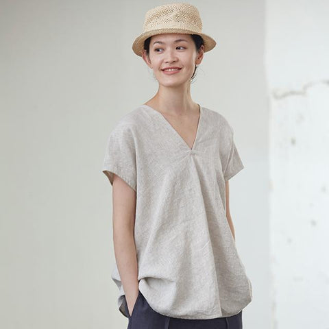 Summer V-Neck blouse K005