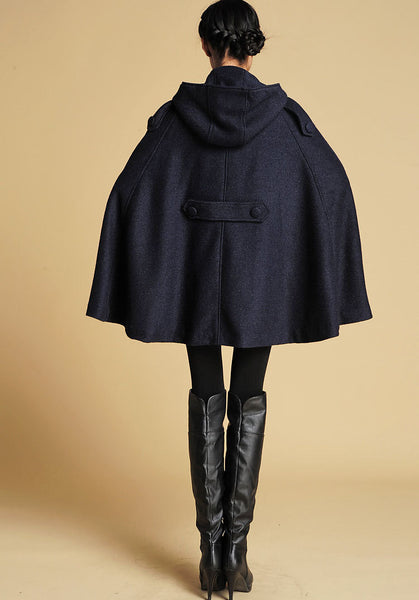 cape coat women