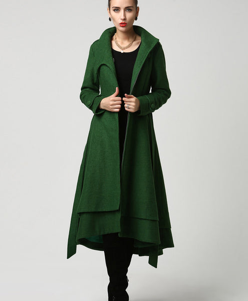 womens vintage inspired coat