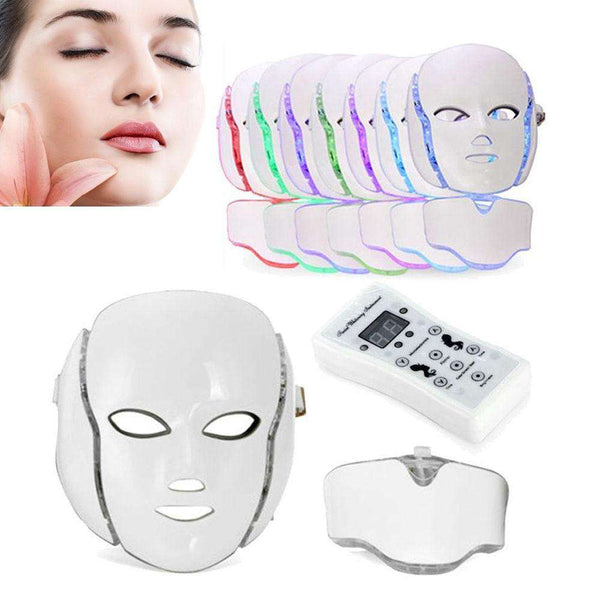 Gizmo Supply LED 7 Colors Photon Face Mask