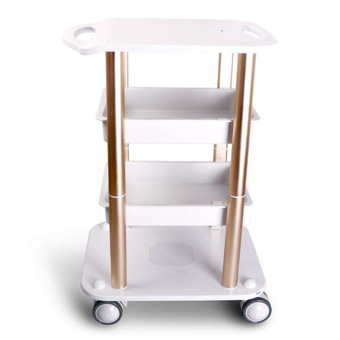 Gizmo Supply Two Shelf ABS Aluminum Trolley For Cavitation Machines