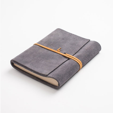Leather journal - Grey