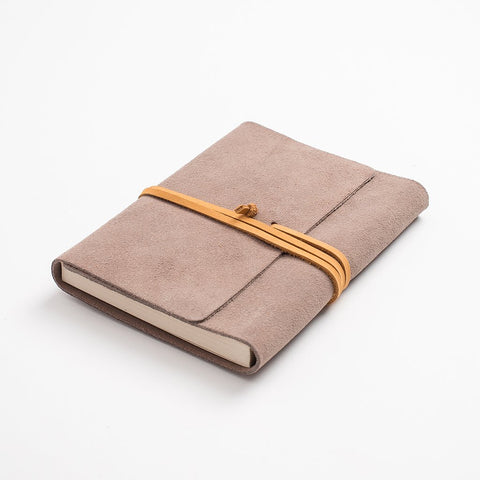 Leather journal - Beige