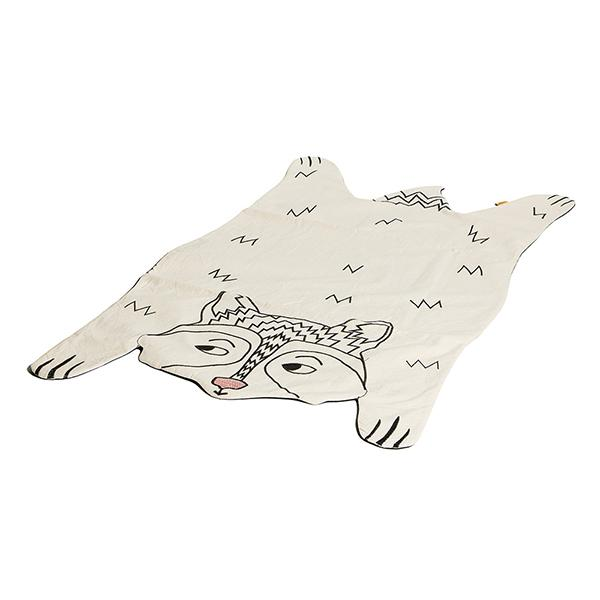 Raccoon playmat