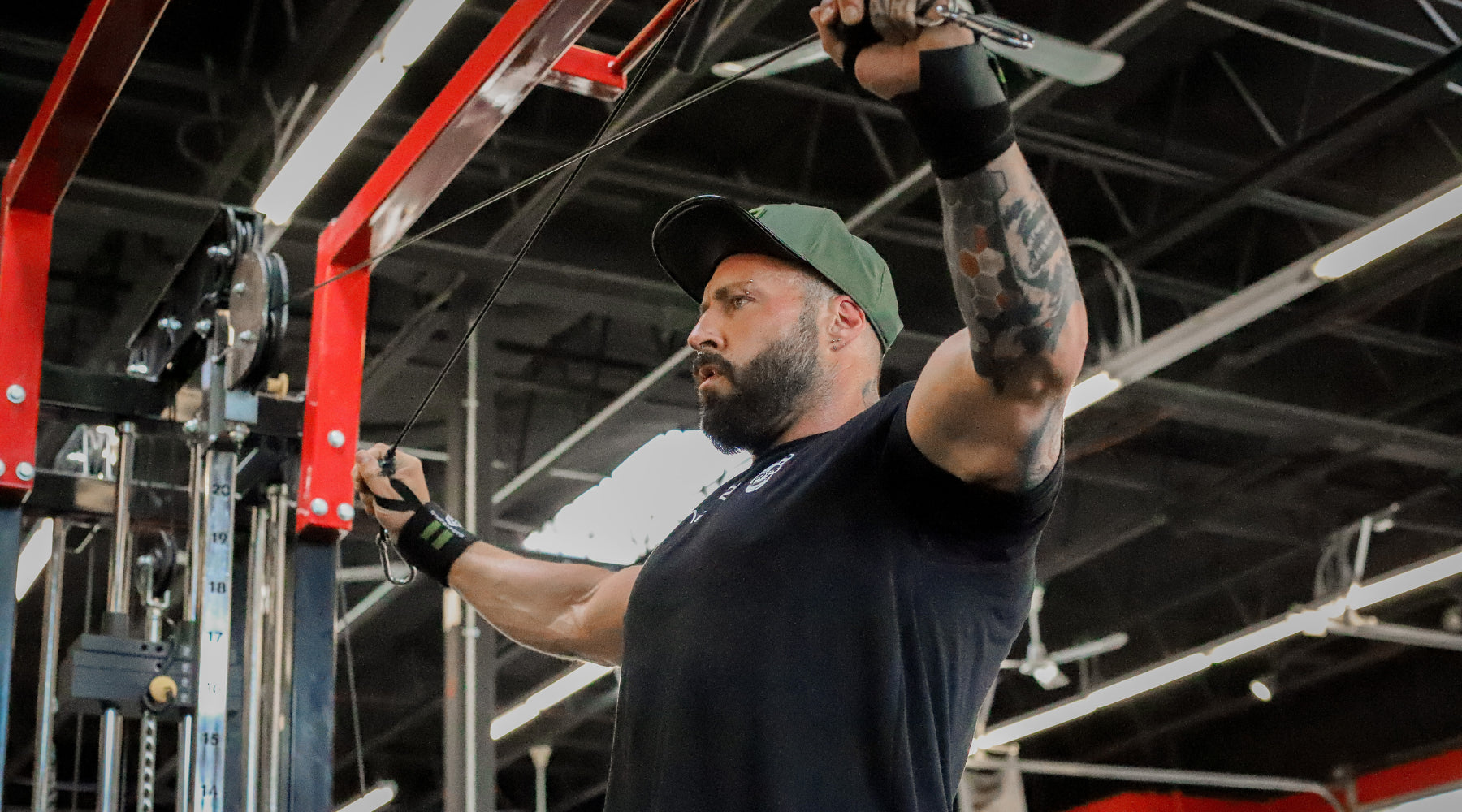 Kris Gethin from Kaged Muscle