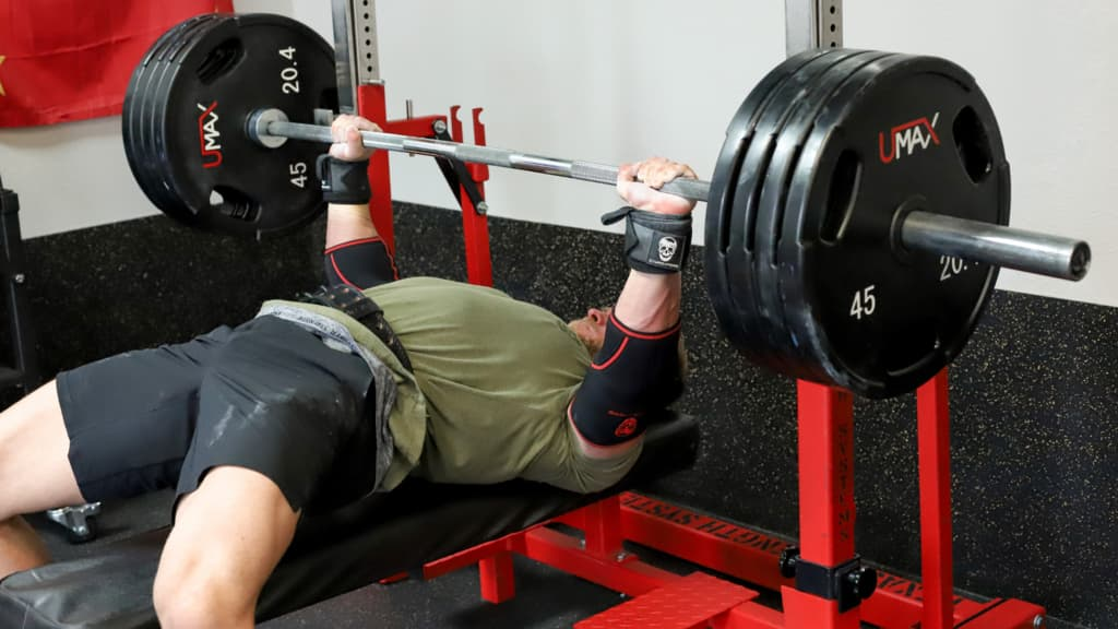 Elbow Sleeves Bench Press