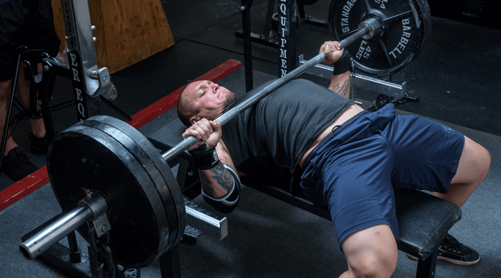 how to bench press