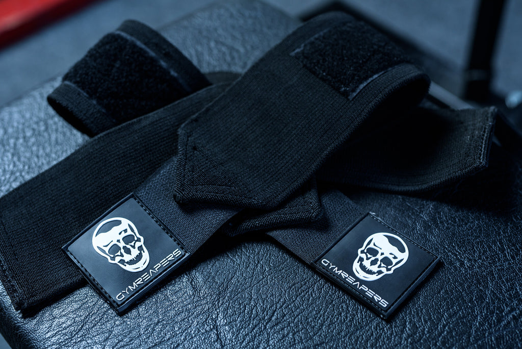 Gymreapers Wrist Wraps in Black