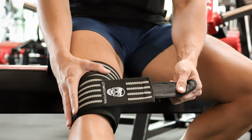 how to use knee wraps