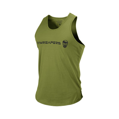 Gymreapers Curved Hem Tank