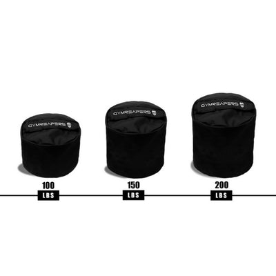 Gymreapers sandbags in 100 lbs to 200 lbs