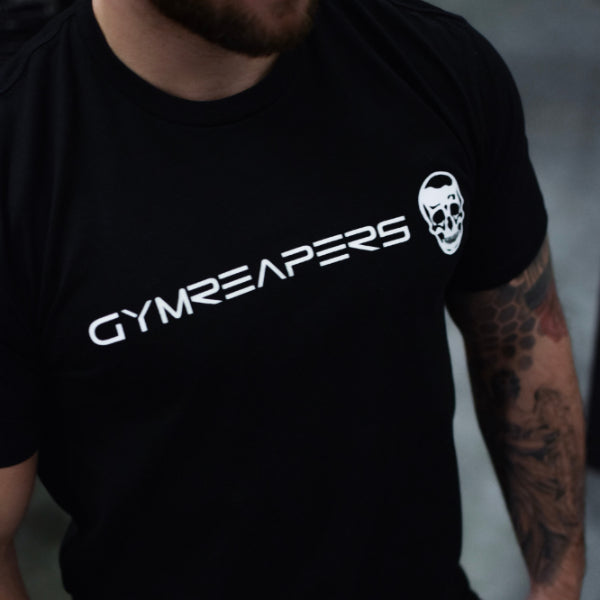 Gymreapers Basic Shirt - Black/White