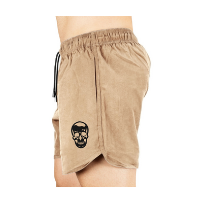 Gymreapers training shorts in sand side view