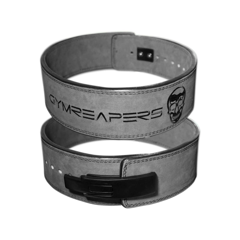 Gymreapers Lever Lifting Belt in Gray