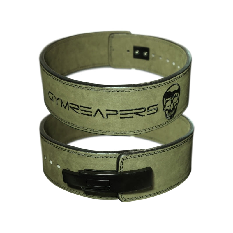 Gymreapers Lever Lifting Belt in Green