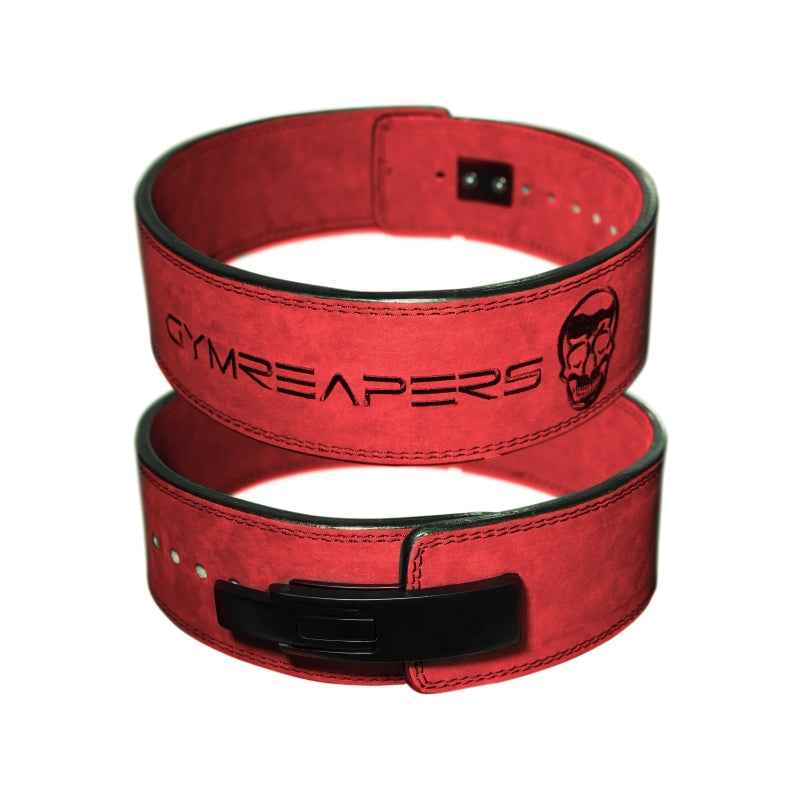 Gymreapers Lever Lifting Belt in Red