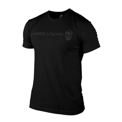 Gymreapers Basic Shirt in black on black