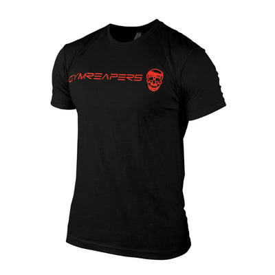 Gymreapers Basic Shirt in black with red logo